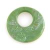 Lamp Bead Revolution Disc 1Pc 38.5mm Jade